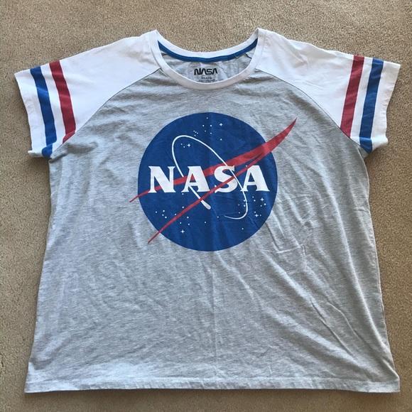 NASA branded grey t-shirt, size 4x